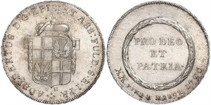 1/2 Thaler States of Germany Silber