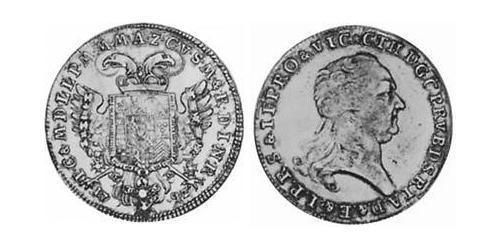 1/2 Thaler Electorate of Bavaria (1623 - 1806) Silver