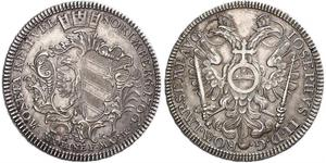 1/2 Thaler Free Imperial City of Nuremberg (1219 - 1806) Silver