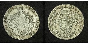 1/2 Thaler Kingdom of Hungary (1000-1918) Silver Joseph II, Holy Roman Emperor  (1741 - 1790)