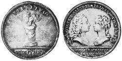 1/2 Thaler Principality of Ansbach (1398–1792) Silver Charles William Frederick, Margrave of Brandenburg-Ansbach (1712 – 1757)