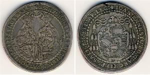 1/2 Thaler Salzburg Silver