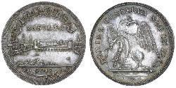 1/2 Thaler Switzerland Silver