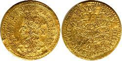 1/2 Unite Kingdom of England (927-1649,1660-1707) Gold Charles I (1600-1649)