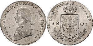 1/3 Талер Королівство Пруссія (1701-1918) Срібло Фрідрих Вільгельм III, король Пруссії  (1770 -1840)