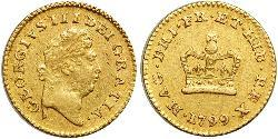1/3 Guinea Kingdom of Great Britain (1707-1801) Gold George III (1738-1820)
