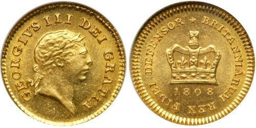 1/3 Guinea United Kingdom of Great Britain and Ireland (1801-1922) Gold George III (1738-1820)