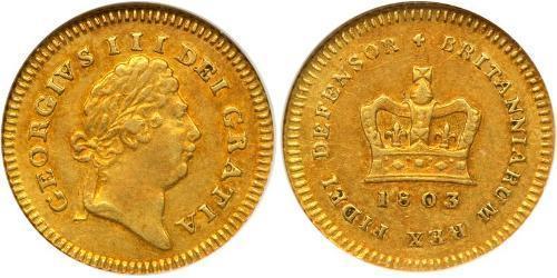 1/3 Guinea Vereinigtes Königreich von Großbritannien und Irland (1801-1922) Gold Georg III (1738-1820)
