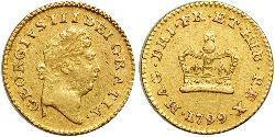 1/3 Guinea Reino de Gran Bretaña (1707-1801) Oro Jorge III (1738-1820)