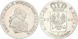 1/3 Thaler Kingdom of Prussia (1701-1918) Silver Frederick William II of Prussia