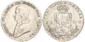 1/3 Thaler Kingdom of Prussia (1701-1918) Silver Frederick William III of Prussia (1770 -1840)