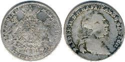 1/3 Thaler Landgraviate of Hesse-Kassel (1567 - 1806) Silver