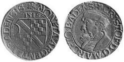 1/3 Thaler Margraviate of Baden (1112 - 1803) Silver