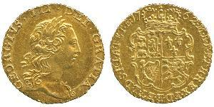 1/4 Гінея Велика Британія  Золото Георг III (1738-1820)