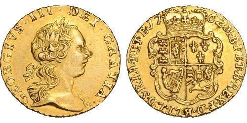 1/4 Гінея Королівство Великобританія (1707-1801) Золото Георг III (1738-1820)