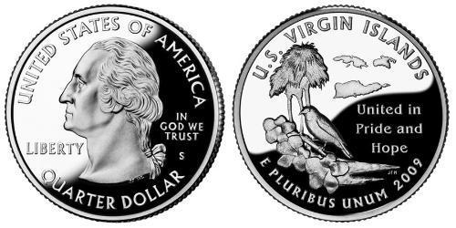 1/4 Доллар США (1776 - ) Никель/Медь