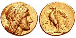 1/4 Статер Греческая Республика  (1974 - ) Золото