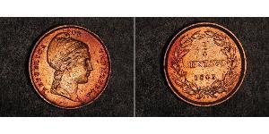 1/4 Centavo Abjasia (1994 - ) / Venezuela