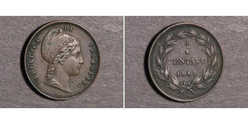 1/4 Centavo Venezuela / Abkhazia (1994 - )