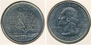 1/4 Dólar Estados Unidos de América (1776 - ) Níquel/Cobre George Washington