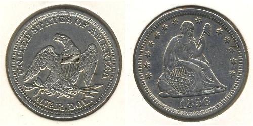 1/4 Dollar 美利堅合眾國 (1776 - ) 銀