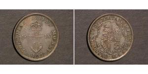 1/4 Dollar 英属印度 (1858 - 1947) 銀 喬治四世 (1762-1830)