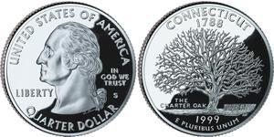 1/4 Dollar 美利堅合眾國 (1776 - ) 銅/镍 乔治·华盛顿