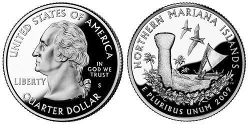 1/4 Dollar 美利堅合眾國 (1776 - ) 銅/镍