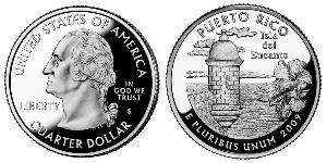 1/4 Dollar USA (1776 - ) Copper/Nickel