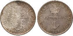 1/4 Dollar Britisch-Indien (1858-1947) Silber Georg IV (1762-1830)