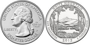 1/4 Dollar Vereinigten Staaten von Amerika (1776 - ) Silber George Washington