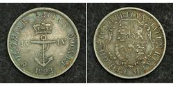 1/4 Dollar British Empire (1497 - 1949) Silver George IV (1762-1830)