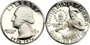 1/4 Dollar USA (1776 - ) Silver George Washington