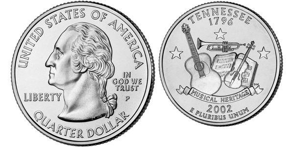 1/4 Dollar USA (1776 - ) Silver George Washington