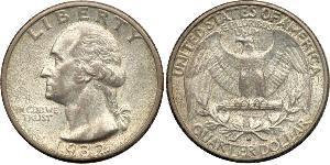 1/4 Dollaro / 25 Cent Stati Uniti d