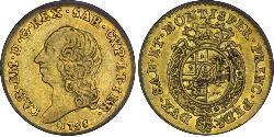 1/4 Doppia Italian city-states Gold
