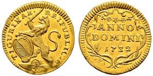 1/4 Ducat Schweiz Gold