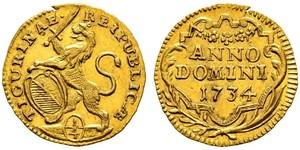 1/4 Ducat Suiza Oro
