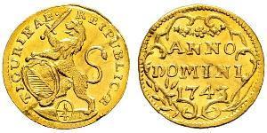 1/4 Ducat Svizzera Oro