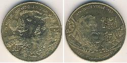 1/4 Euro French Fifth Republic (1958 - ) Brass