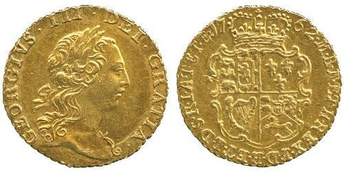 1/4 Guinea 英国 金 喬治三世 (1738-1820)