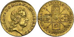 1/4 Guinea Kingdom of Great Britain (1707-1801) / United Kingdom Gold George I (1660-1727)