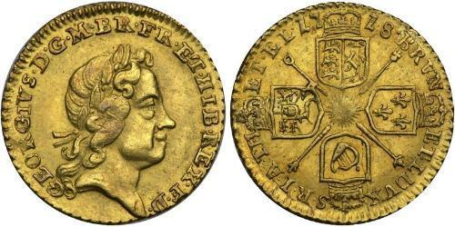 1/4 Guinea Kingdom of Great Britain (1707-1801) / United Kingdom Gold George I (1660-1727)