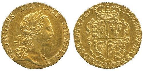 1/4 Guinea Regno Unito  Oro Giorgio III (1738-1820)