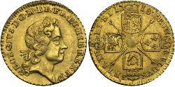 1/4 Guinea Reino de Gran Bretaña (1707-1801) / Reino Unido Oro Jorge I (1660-1727)