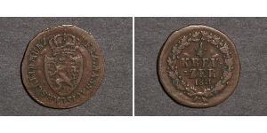 1/4 Kreuzer States of Germany Copper