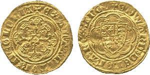 1/4 Noble Королевство Англия (927-1649,1660-1707) Золото Эдуард III (1312-1377)