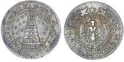 1/4 Pagoda British East India Company (1757-1858) Silver