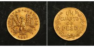1/4 Peso Mexico Gold