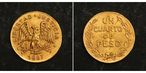 1/4 Peso Mexico Gold